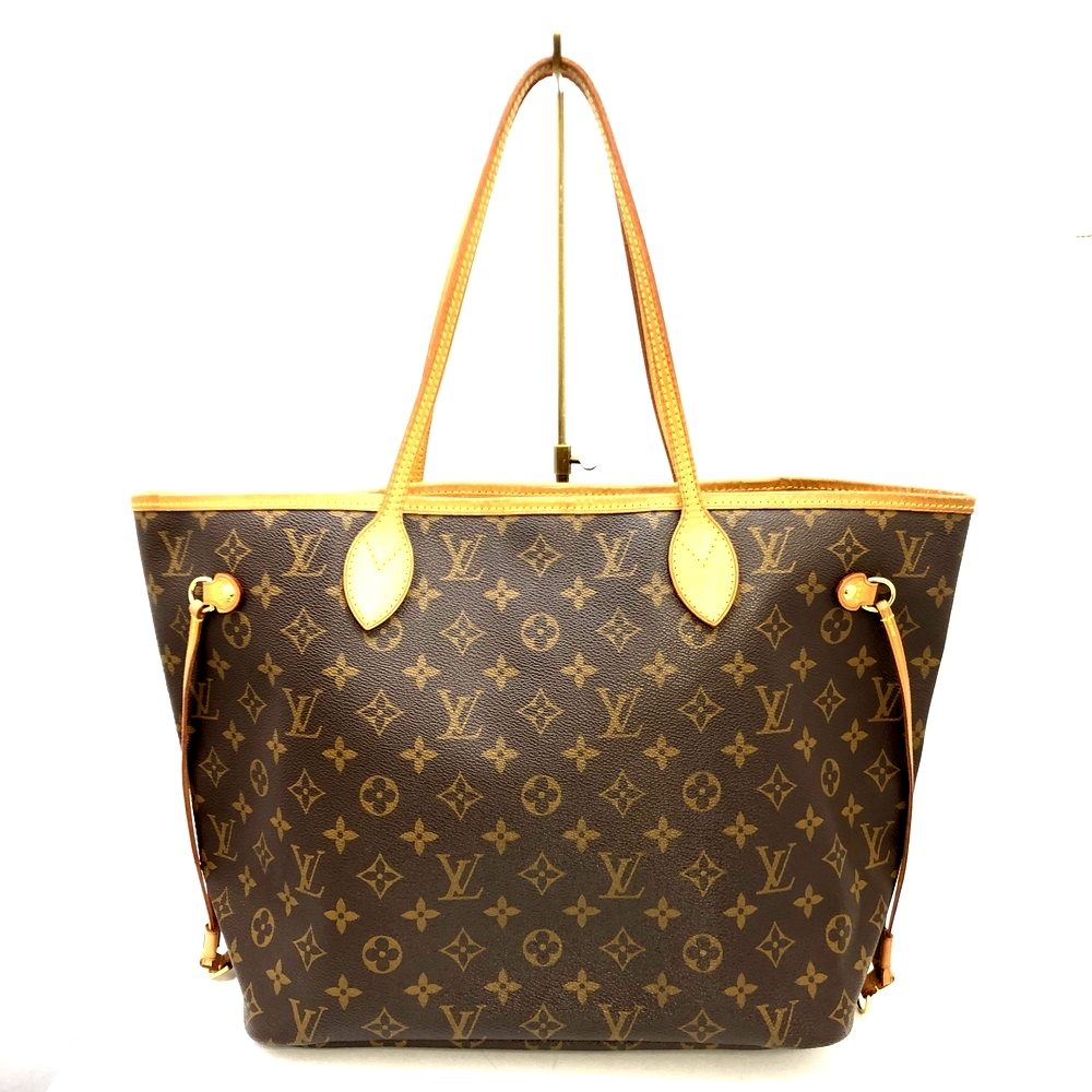 【中古】【レディース】LOUIS VUITTON モノグラム ネヴァーフルMM旧型 M40156 MS4171 ショルダーバック トートバック 鞄 カバン カラー:ブラウン 茶 万代Net店