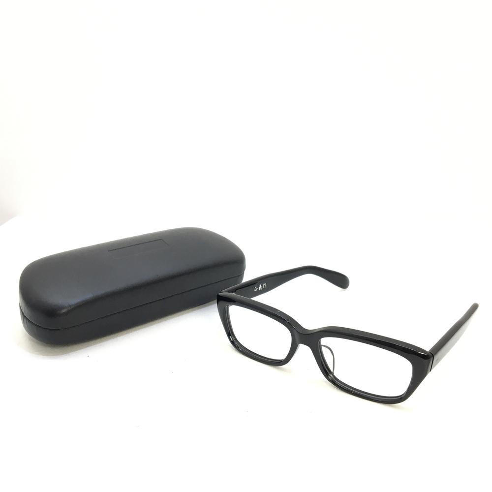 【中古】【メンズ】【レディース】匠義作 celluloid frame セルロイドフレーム EYEWEAR アイウェア ケース・クリーナー付き 眼鏡 メガネ 小物 カラー:BLACK/CLEAR ブラック/クリア 黒/透明 万代Net店