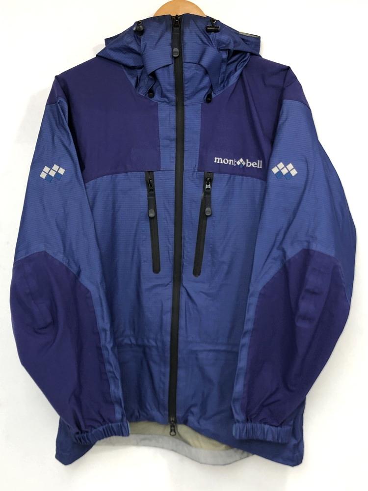 【中古】【メンズ】mont bell モンベル ダイナアクションパーカ ナイロンジャケット 品番・型番:1102317 サイズ:M カラー:ブルー系 万代Net店