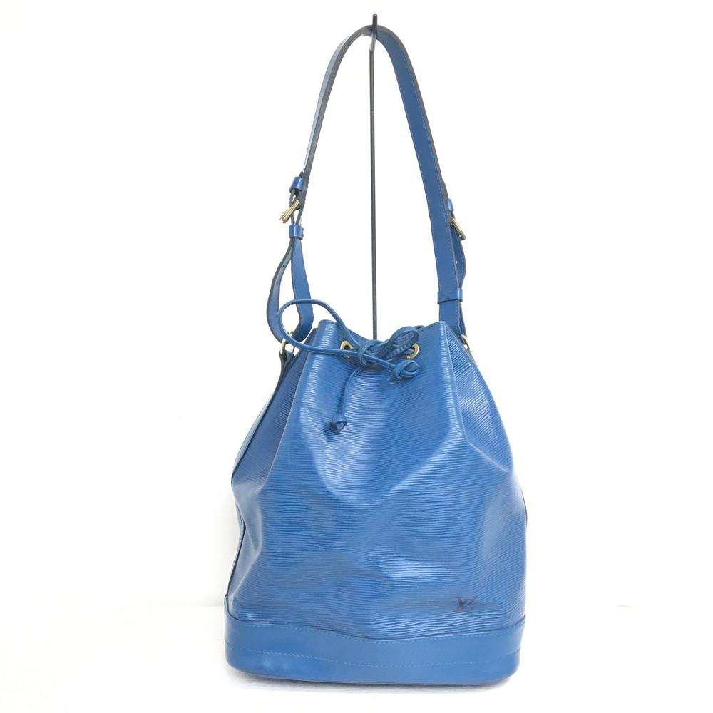 【中古】【レディース】LOUIS VUITTON ルイヴィトン エピ ノエ M44005 AR1904 巾着型ショルダーバッグ ショルダーバッグ BAG バッグ カバン 鞄 カラー:トレドブルー 青 万代Net店