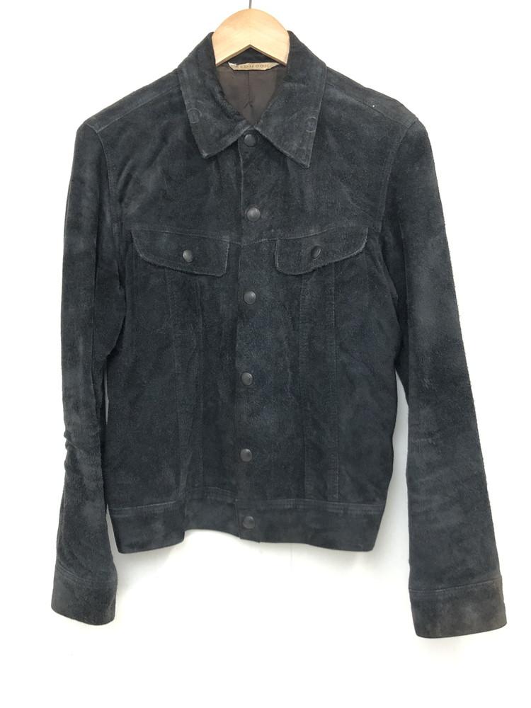 【中古】【メンズ】RED MOON レッドムーン レザージャケット スウェードジャケット サイズ:36 カラー:ブラック 万代Net店
