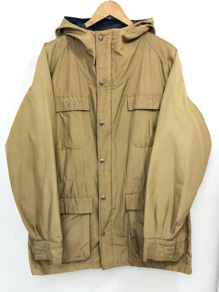 【中古】【メンズ】SIERRA DESIGNS シエラデザイン 60/40 クロスパーカー ジャケット USA製 サイズ:L カラー:カーキ 万代Net店