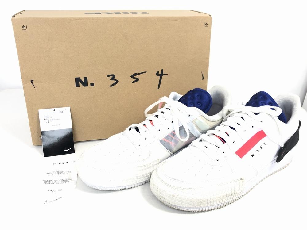 【中古】【メンズ】【箱付き】NIKE ナイキ AIR FORCE 1 TYPE エアフォース1タイプ 品番・型番:CI0054-100 靴 スニーカー サイズ:29.0cm カラー:サミットホワイト レッド オービットホワイト ブラック 万代Net店