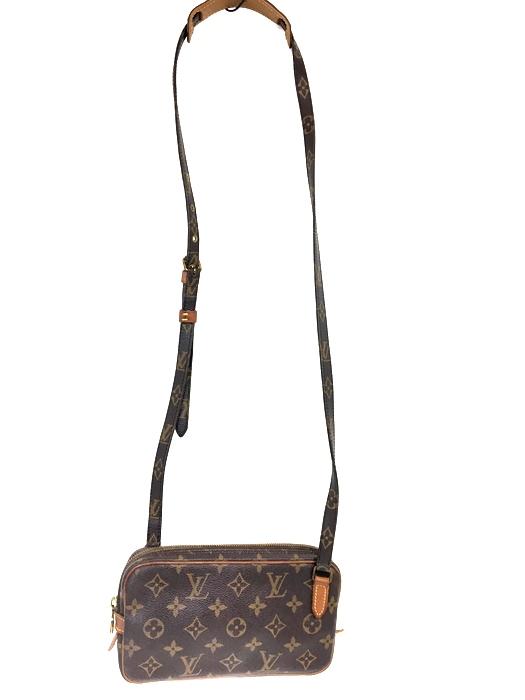 【中古】【レディース】LOUIS VUITTON ルイ・ヴィトン モノグラム マルリーバンドリエール M51828 TH0972 ショルダーバッグ BAG かばん 鞄 カラー:ブラウン 茶 万代Net店