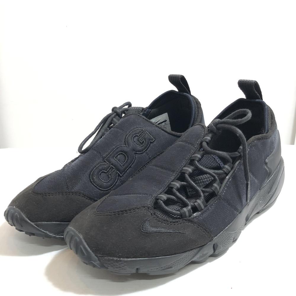 """【中古】【メンズ】NIKE × BLACK COMME des GARCONS ナイキ × ブラック コムデギャルソン """" AIR FOOTSCAPE NM/CDG エアフットスケープ NM/CDG"""