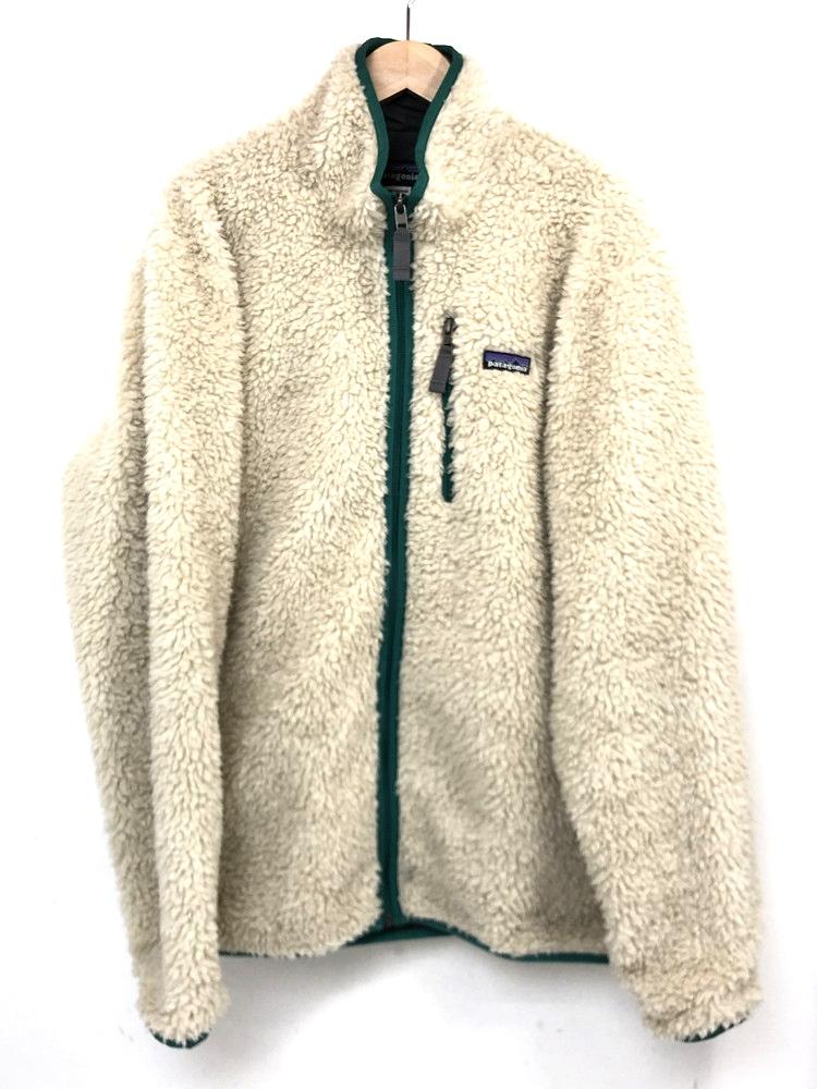 【中古】【メンズ】patagonia パタゴニア クラシックレトロXカーディガン フリースジャケット 品番・型番:23060FA12 サイズ:L カラー:ナチュラル 万代Net店