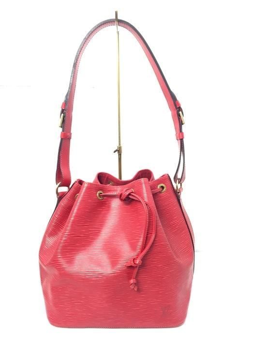 【中古】【レディース】LOUIS VUITTON ルイ・ヴィトン エピ プチ・ノエ M44107 AR0927 ショルダーバッグ BAG かばん 鞄 カラー:RED レッド 赤 万代Net店