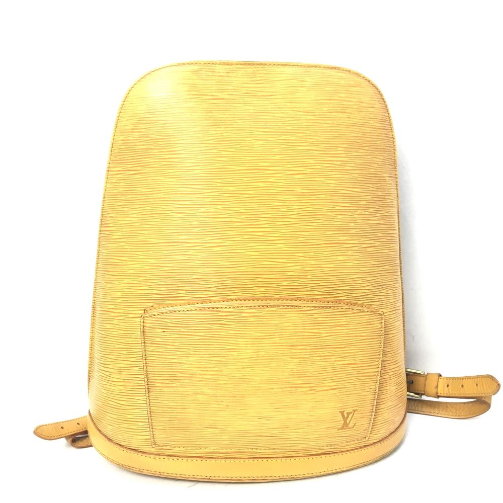 【中古】【レディース】LOUIS VUITTON ルイ・ヴィトン エピ ゴブラン M52299 VI0925 リュックサック バッグ BAG かばん 鞄 カラー:イエロー 黄 万代Net店