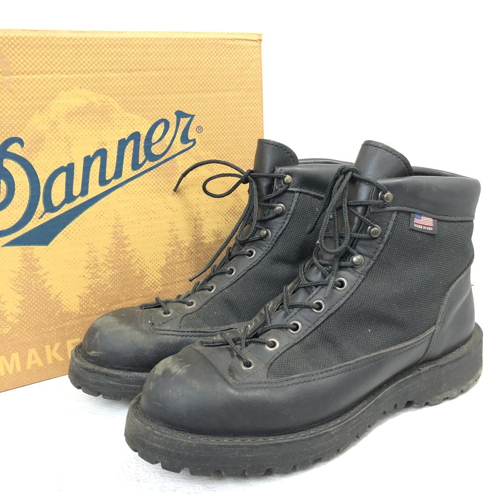 """【中古】【メンズ】【付属品あり】DANNER ダナー """" DANNER LIGHT BLACK ダナー ライト ブラック"""