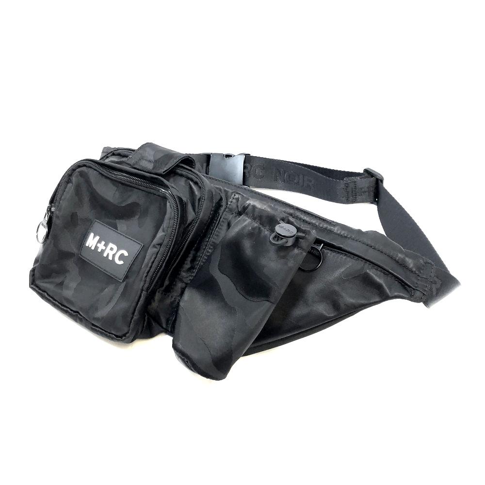 【中古】【メンズ】M+RC NOIR マルシェノア SURVIVAL BELT BAG サバイバルベルトバッグ カラー:BLACK 黒 万代Net店