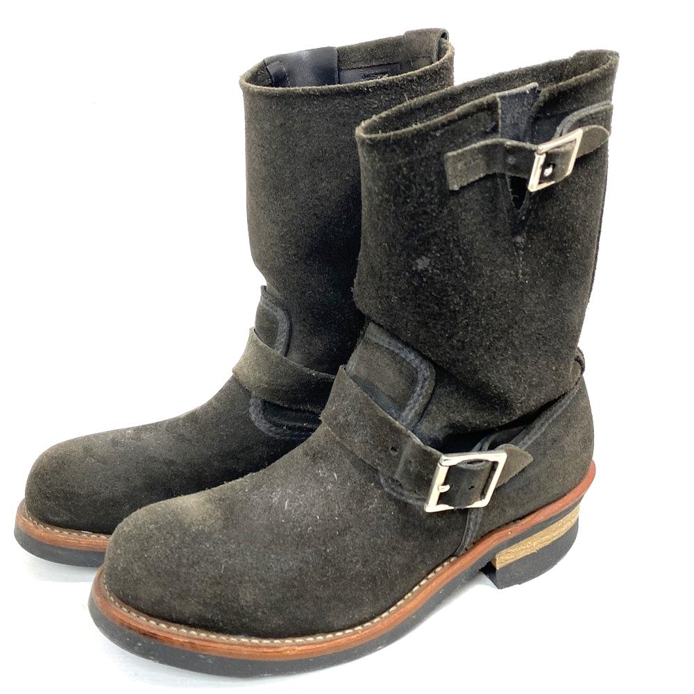 【中古】【メンズ】RED WING レッドウィング エンジニアブーツ 品番・型番:8274 靴 ブーツ サイズ:26.0cm カラー:ブラック 万代Net店