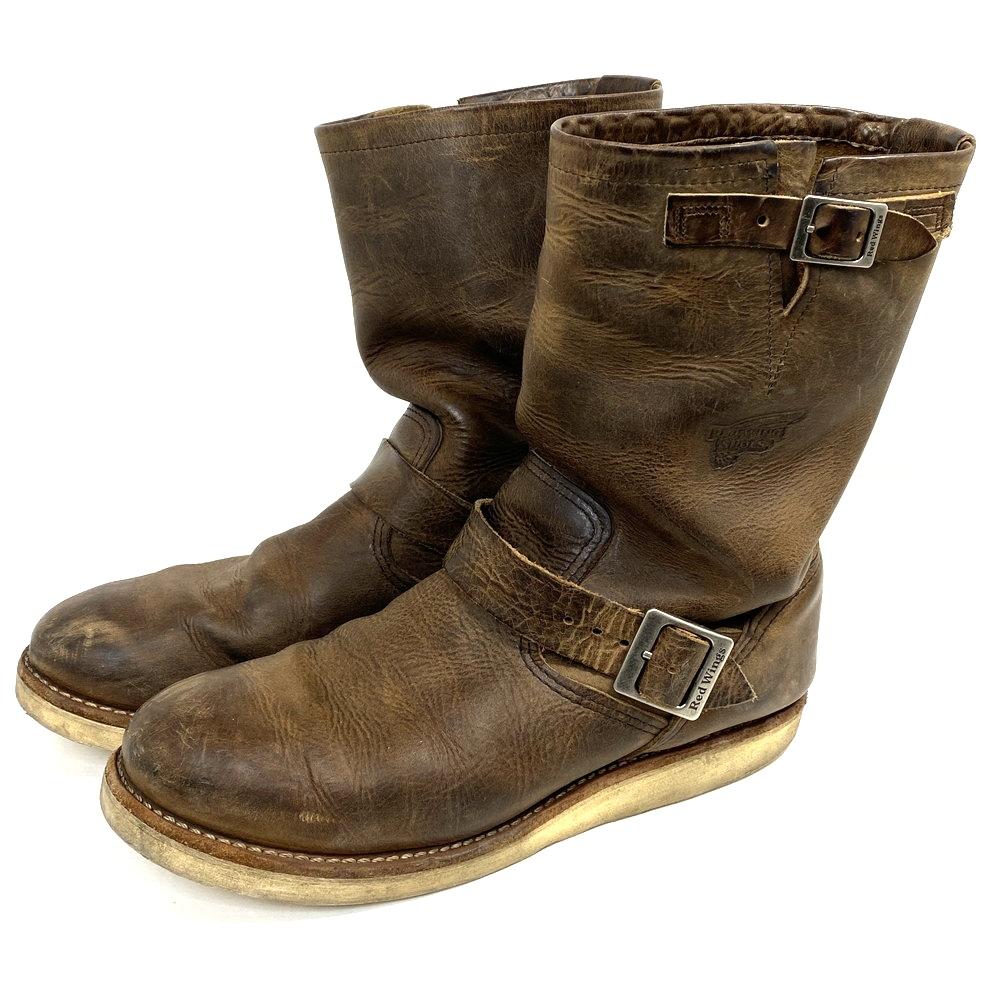 【中古】【メンズ】RED WING レッドウィング エンジニアブーツ 品番・型番:2975 靴 ブーツ サイズ:28.0cm カラー:ブラウン 万代Net店