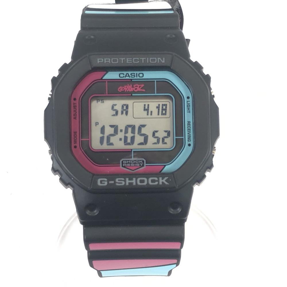腕時計 GW-B5600GZ-1JR 時計 デジタル メンズ カシオ 万代Net店 GORILLAZコラボ 【中古】【メンズ・レディース】【付属品有り】CASIO ゴリラズ G-SHOCK ジーショック