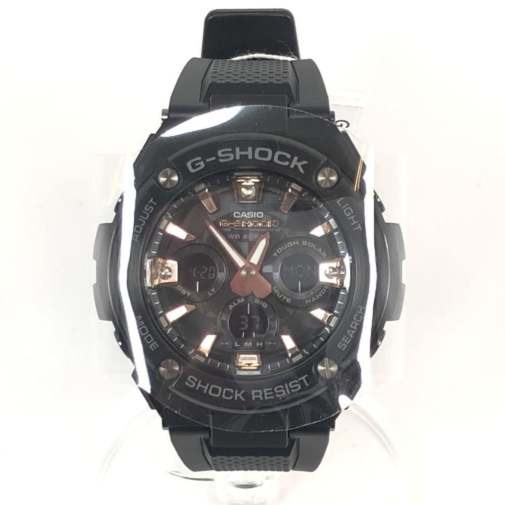 【中古】【メンズ・レディース】【付属品有り】CASIO G-SHOCK GST- カシオ GST-S310BBD ジーショック BLACK ブラック 時計 メンズ 腕時計 万代Net店
