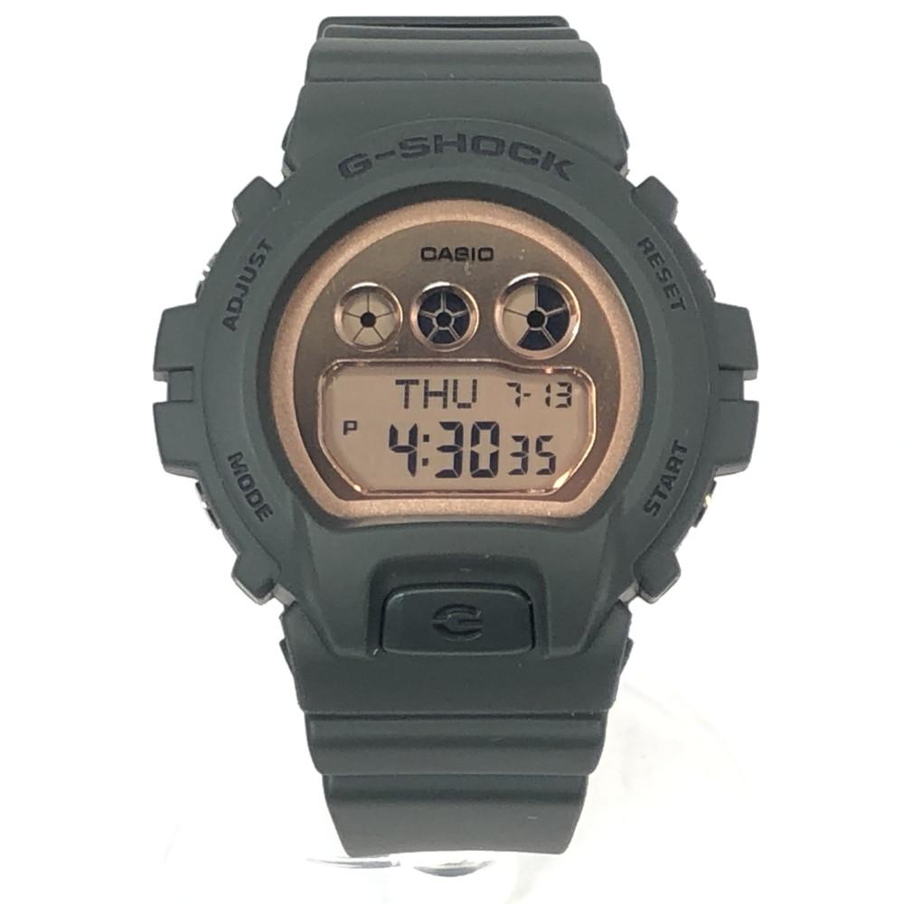 【中古】【未使用品】【メンズ・レディース】【付属品有り】CASIO G-SHOCK GMD-S6900MC カシオ ジーショック限定モデルSシリーズデジタルウォッチ カーキ ミリタリー時計 腕時計 万代Net店