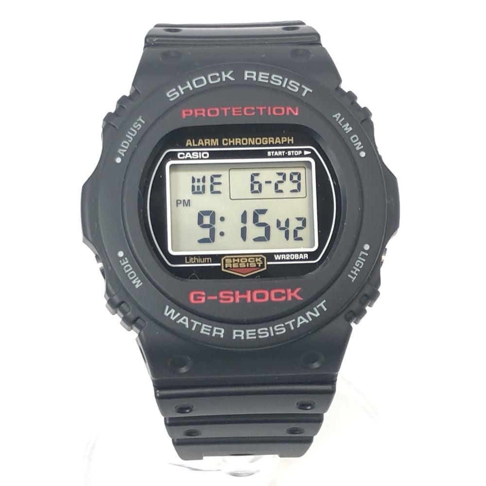 【中古】【未使用品】【メンズ・レディース】【付属品有り】CASIO G-SHOCK DW-5750E カシオ ジーショック 腕時計 メンズ レディース 時計 ブラック 黒 デジタル 海外モデル 万代Net店