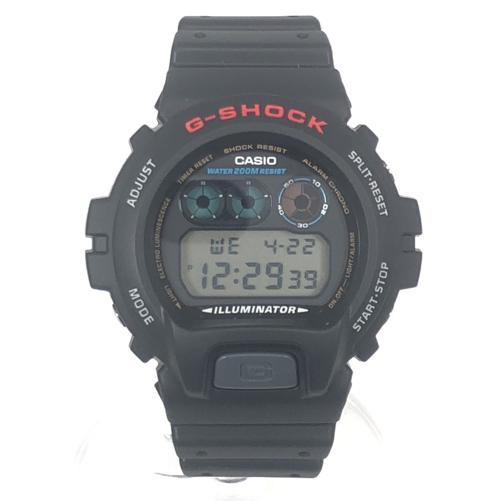 デジタル メンズ BLACK 黒 メンズ 【中古】【未使用品】【メンズ・レディース】【付属品有り】CASIO 腕時計 カシオ ブラック 万代Net店 ジーショック時計 DW-6900 G-SHOCK
