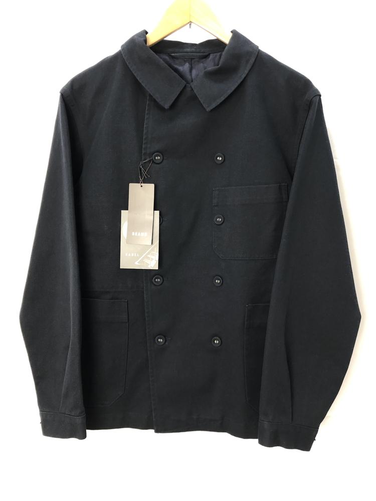 【中古】【メンズ】KABEL カベル ダブルジャケット サイズ表記:1 カラー:ネイビー 万代Net店