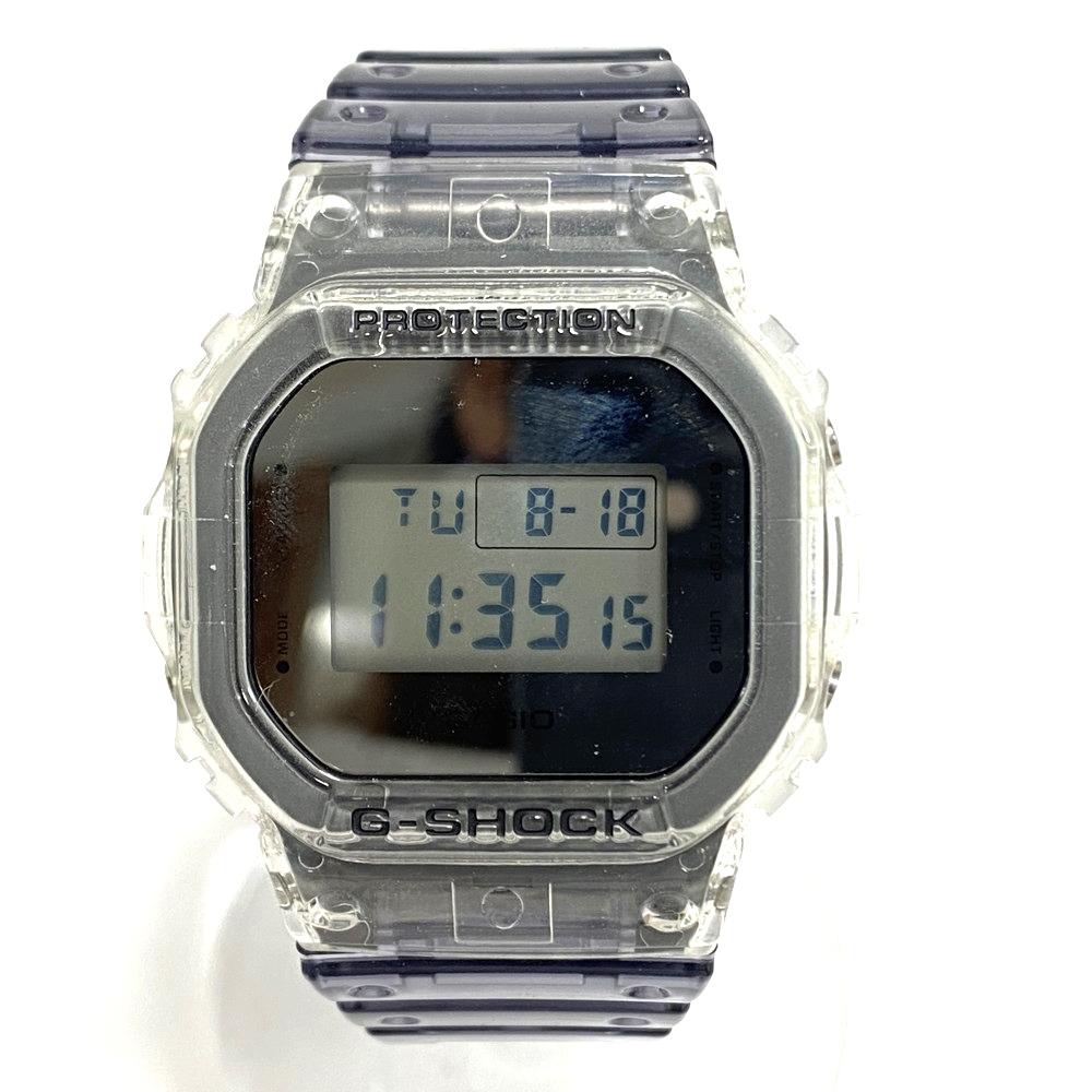 【中古】【メンズ】【付属品あり】G-SHOCK ジーショック Clear Skeleton クリアスケルトン dw-5600SK 腕時計 スクエア 防水 クオーツ デジタル 万代Net店