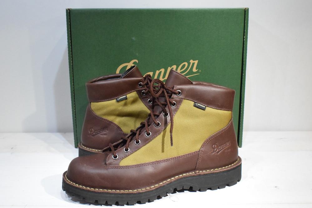 【中古】DANNER ダナー DANNER FIELD ダナーフィールド D.BROWN/BEIGE 570536-0001 GORE-TEX ゴアテックス ブーツ メンズ 靴A 万代Net店