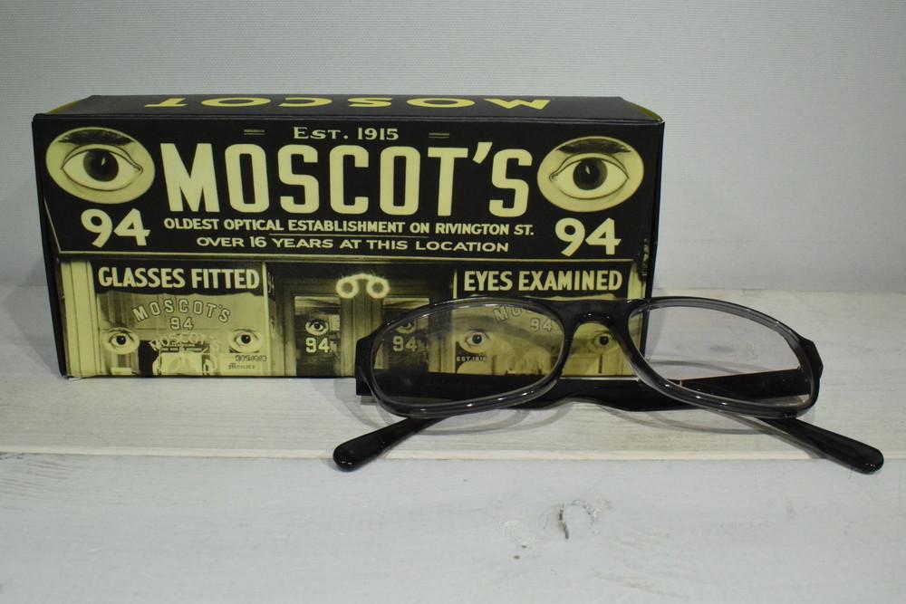 【中古】MOSCOT モスコット GROVER ブラック グレー サイズ54 メンズ レディース サングラス 万代Net店