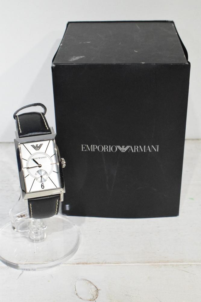 【中古】【美品】EMPORIO ARMANI エンポリオ アルマーニ 腕時計 AR0129 メンズ 時計 万代Net店