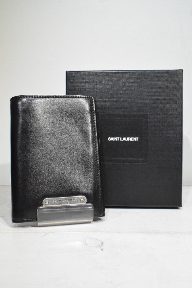 【中古】【美品】Saint Laurent Paris サンローランパリ 3つ折り財布 メンズ ハイブラ 万代Net店