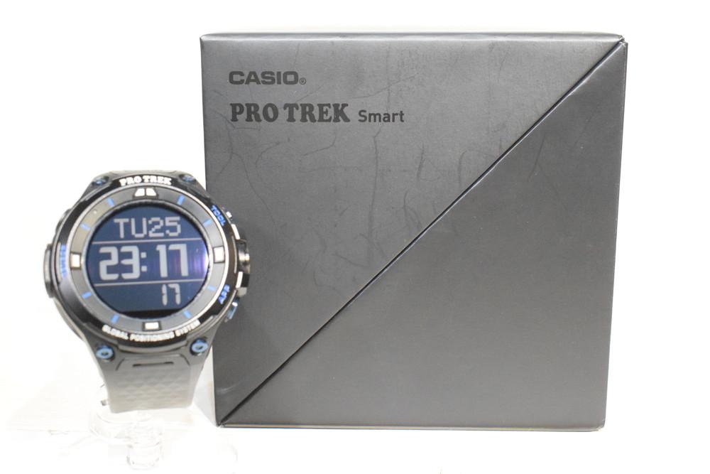 【中古】CASIO カシオ WSD-F20-BK PRO TREK Smart プロトレックスマート スマートアウトドアウォッチ GPS搭載 充電式 メンズ 時計 万代Net店