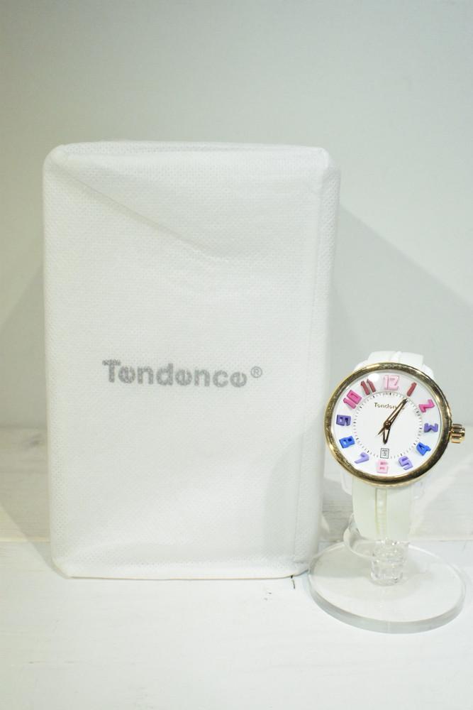 【中古】Tendence テンデンス ガリバーラウンド レインボー ミディアム TG930113R メンズ レディース 時計 万代Net店