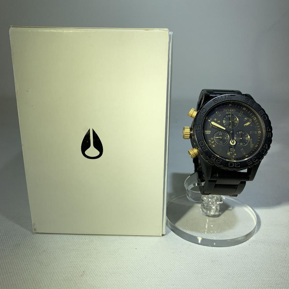 【中古】NIXON ニクソン 42-20 CHRONO クロノグラフ 20気圧防水 アナログ 電池式 クオーツ メンズ 時計 万代Net店