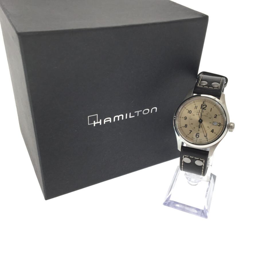 ハミルトン フィールド 型番:H703050 オート カーキ 自動巻き 万代Net店 HAMILTON 【中古】【メンズ】 時計