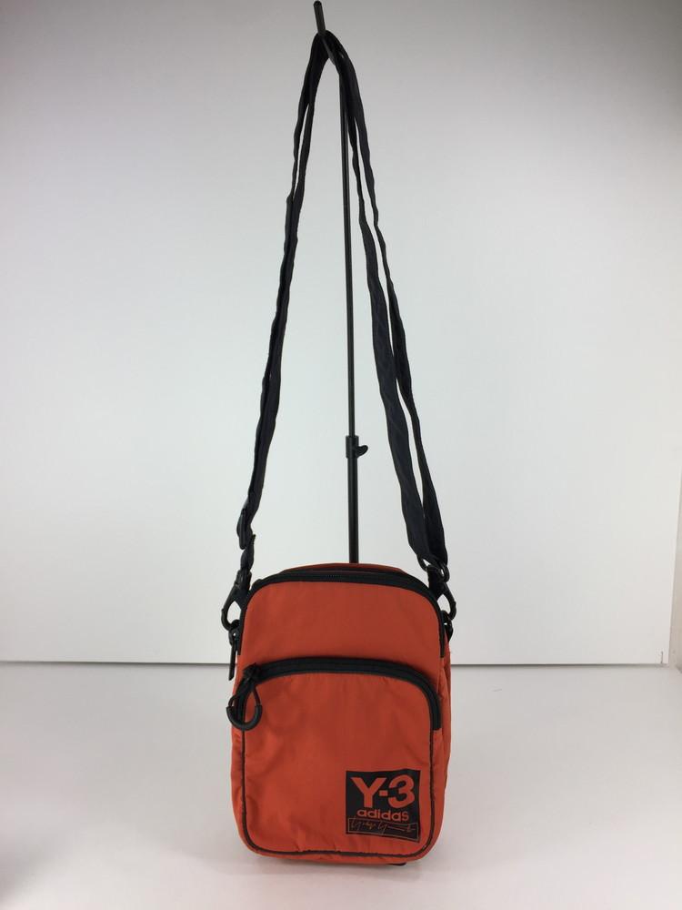 【中古】【メンズ】Y-3 PK AIRLINER adidas Yohji Yamamoto ワイスリー アディダス ヨウジヤマモト エアライナー ショルダーバッグ サイズ:約22×16×6.5cm カラー:ORENGE 万代Net店