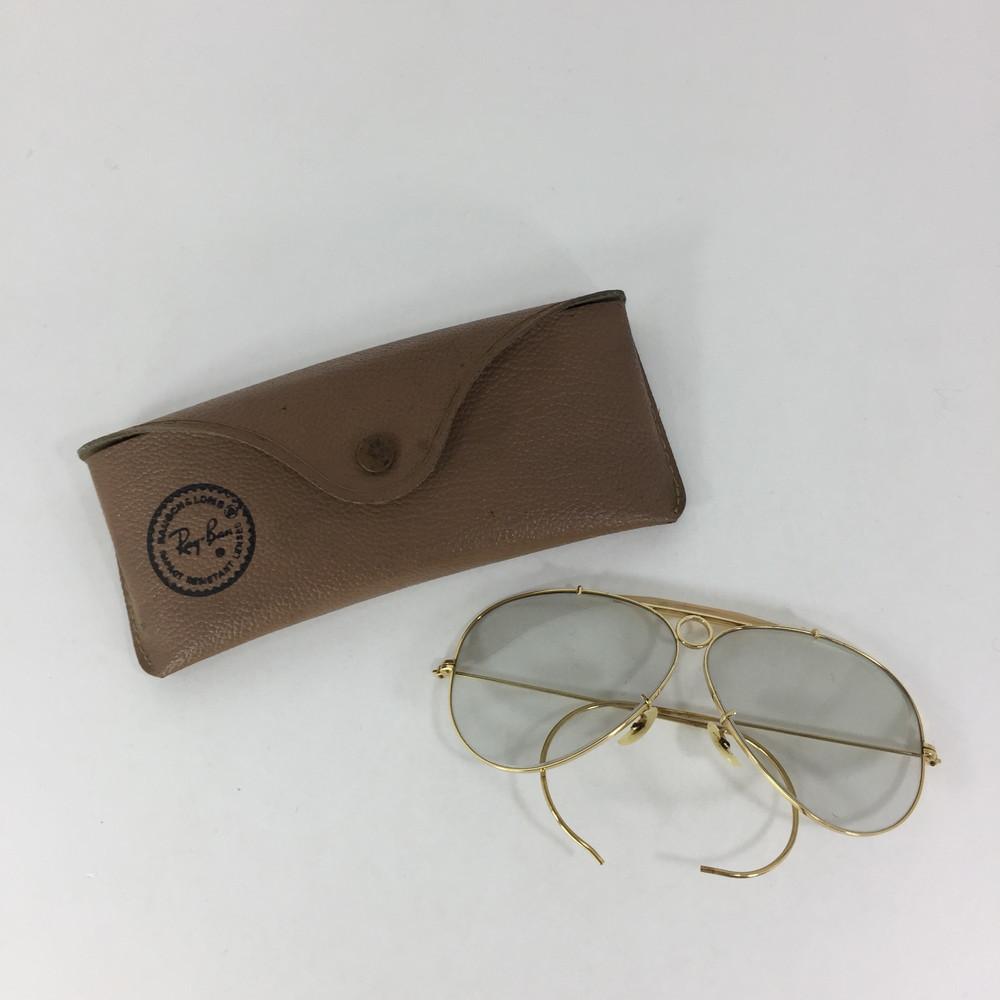 【中古】【メンズ】Ray-Ban SHOOTER B&L レイバン シューター USA製 アクセサリー サングラス サイズ:表記なし カラー:GOLD 万代Net店