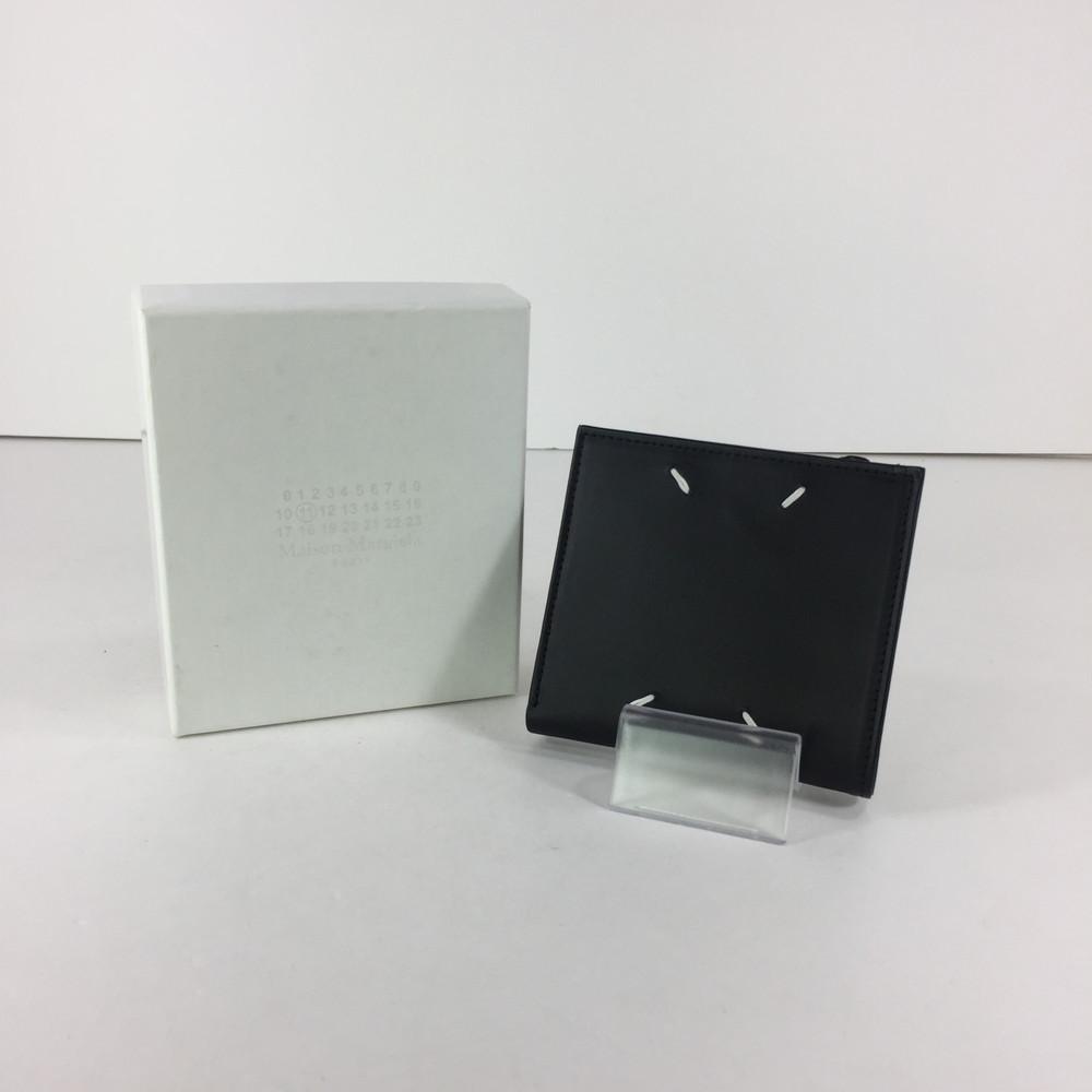 【中古】【メンズ】Maison Margiela 11 19AW カーフスキンジップウォレット S35UI0438 PS935 メゾン マルジェラ 財布 ショートウォレット サイズ:約9×10×1.5cm カラー:BLACK 万代Net店