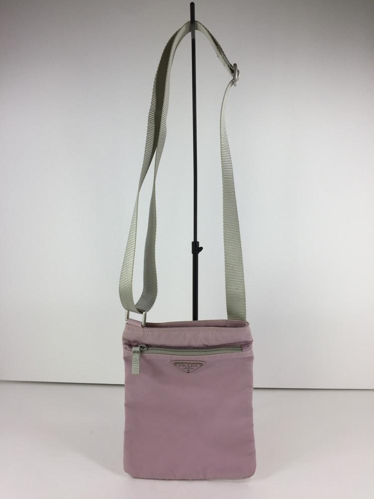 【中古】【レディース】PRADA SHOULDER BAG プラダ ショルダーバッグ サイズ:約21×17.5×0.5cm カラー:PINK 万代Net店