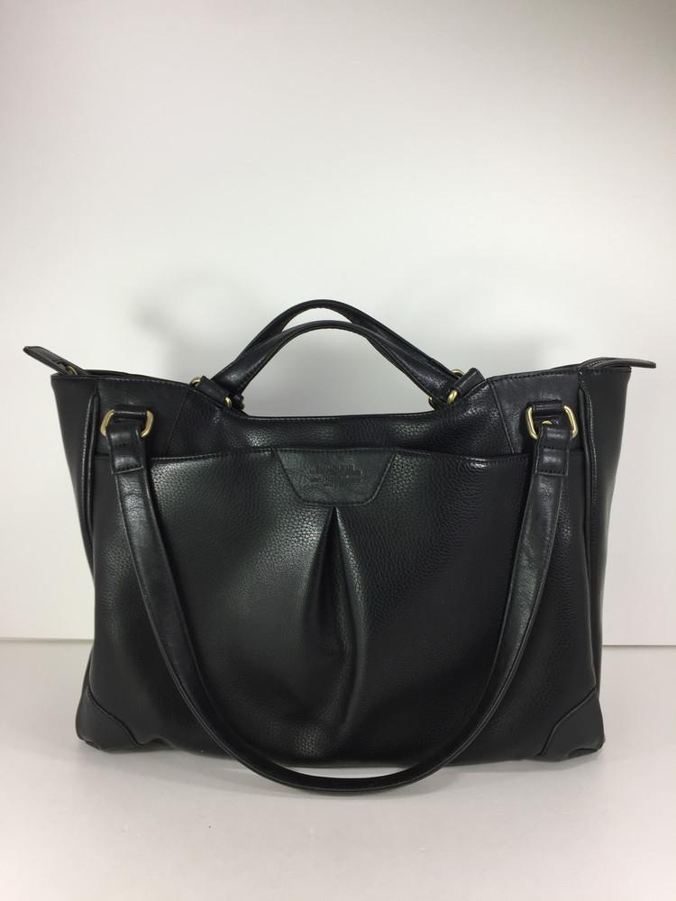 【中古】【メンズ】SAMANTHA KINGZ 2WAY HANDLE BAG サマンサ キングズ ハンドルバッグ カバン サイズ:約30.5×41×13cm カラー:BLACK 万代Net店