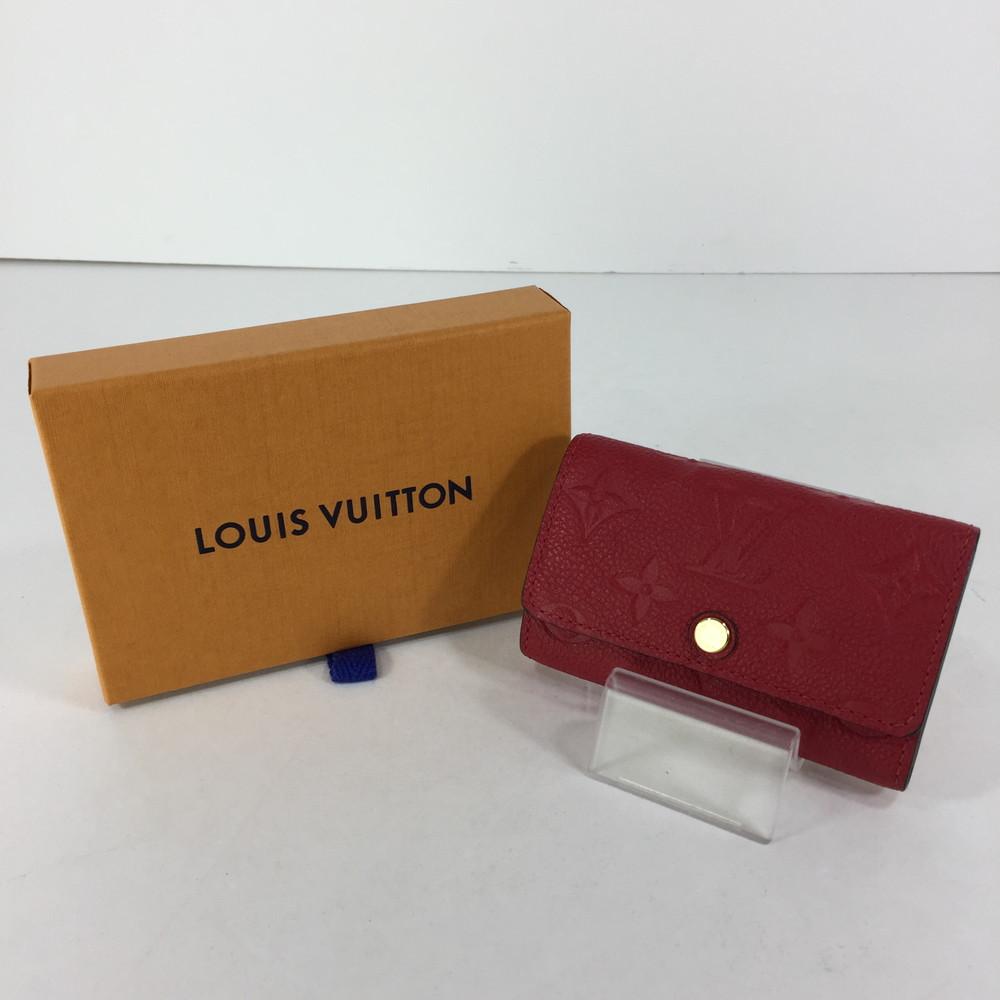 【中古】【レディース】LOUIS VUITTON モノグラム アンプラント ミュルティクレ6 M64423 ルイ・ヴィトン 6連キーケース サイズ:約6.5×10.5×2cm カラー:スリーズ 万代Net店