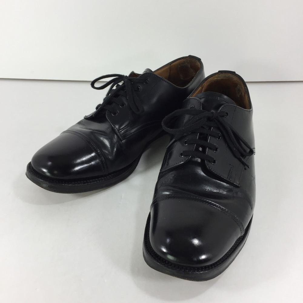 【スーパーセール限定!20%OFF~】【中古】【メンズ】SANDERS S1572 MILITARY DERBY SHOES サンダース ミリタリー ダービー シューズ ビジネスシューズ ドレスシューズ 革靴 サイズ:7 カラー:BLACK 万代Net店