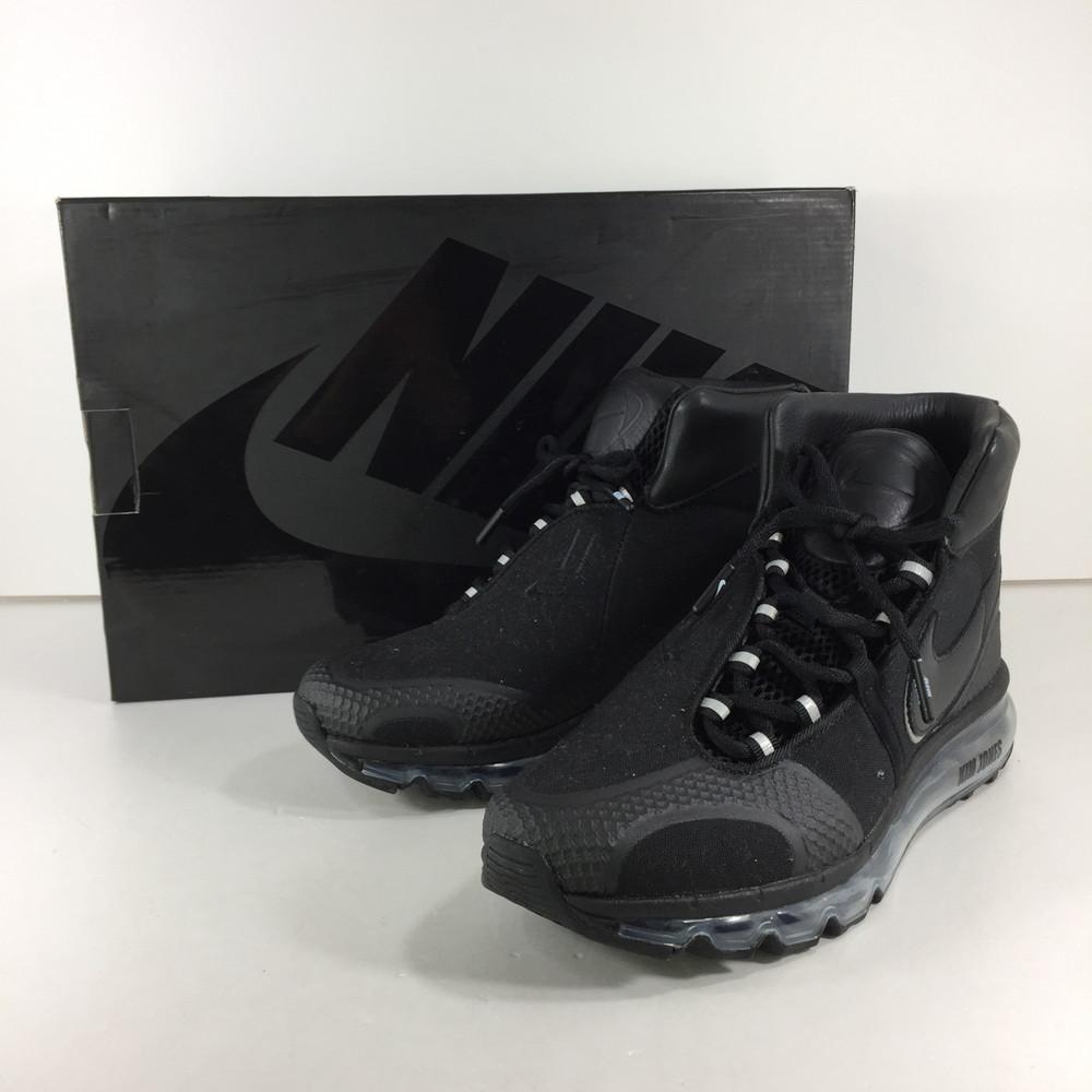 【中古】【メンズ】NIKE AIR MAX 360 HI/KJ KIM JONES AO2313-001 ナイキ エアマックス360 キム・ジョーンズ スニーカー サイズ:26cm US 8 カラー:BLACK 万代Net店