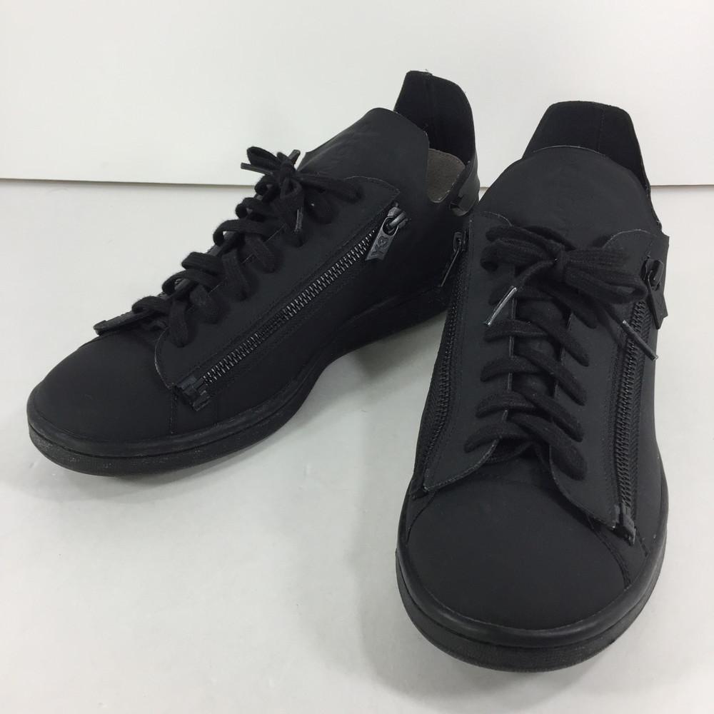 【中古】【メンズ】Y-3 adidas Yohji Yamamoto STAN ZIP CG3207 ワイスリー アディダス ヨウジヤマモト スタンジップ スニーカー サイズ:27cm US 9 カラー:BLACK 万代Net店