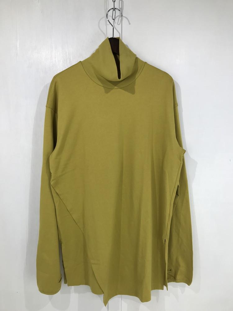 【中古】【メンズ】ANEI 19AW LAYERED POLONECK L/S AN0192_S1004 アーネイ レイヤードモックネック カットソー 長袖Tシャツ サイズ:3 カラー:MUSTARD 万代Net店