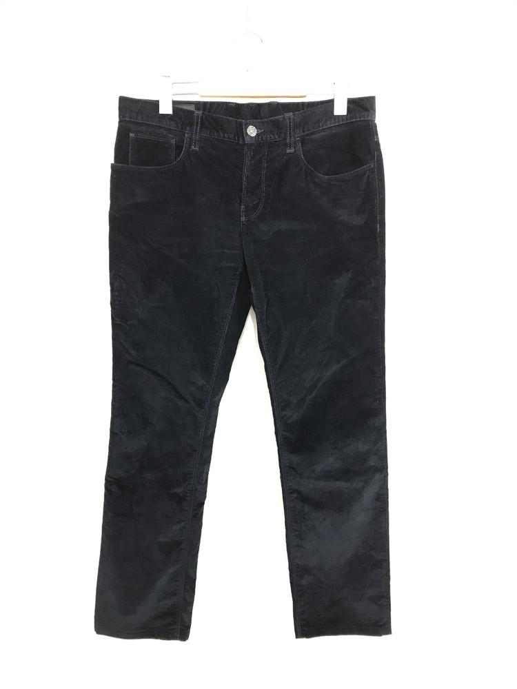 【中古】【メンズ】GUCCI VELVET CORDUROY PANTS 353593 XD118 グッチ ベルベット コーデュロイパンツ サイズ:46 カラー:DARK BLUE 万代Net店