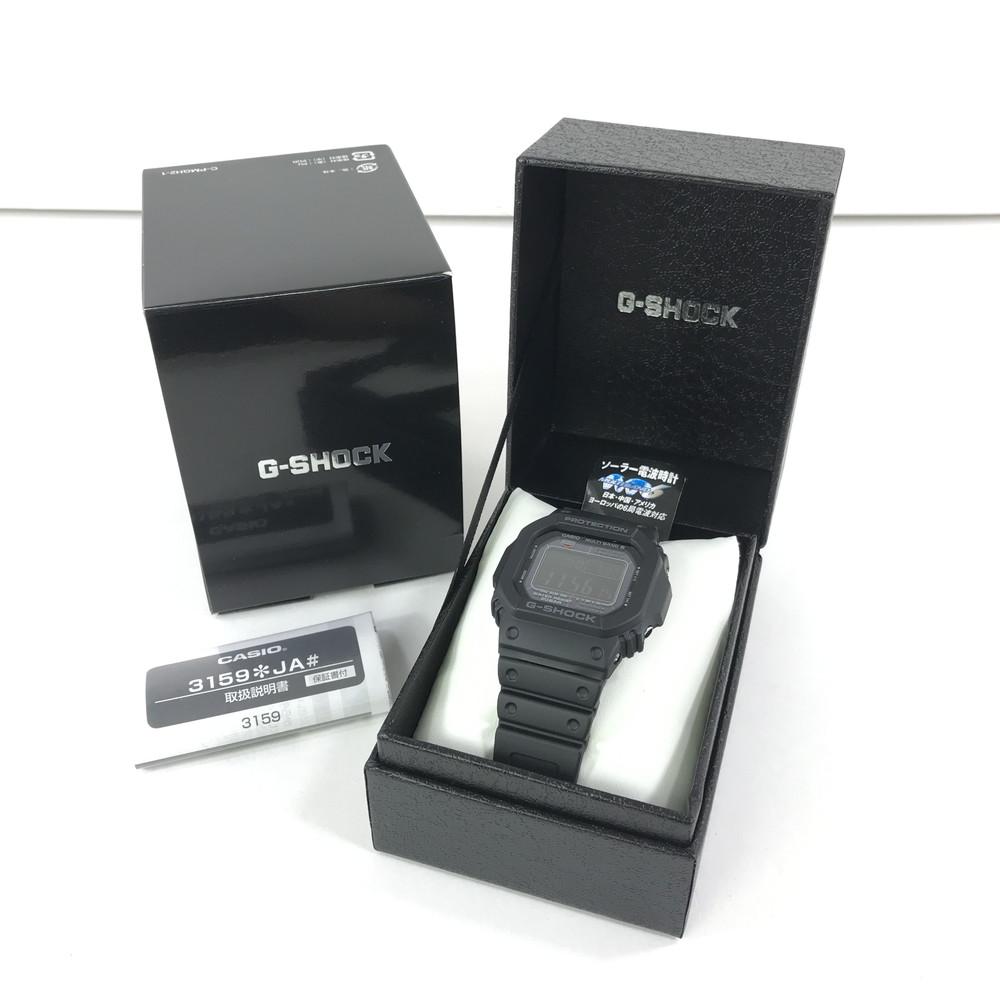 【中古】【未使用品】【メンズ】CASIO G-SHOCK GW-M5610-1JF カシオ ジーショック クォーツ 腕時計 サイズ:ケース径 約46.7×43.2×12.7mm 腕回り 最大約21cm カラー:BLACK 万代Net店