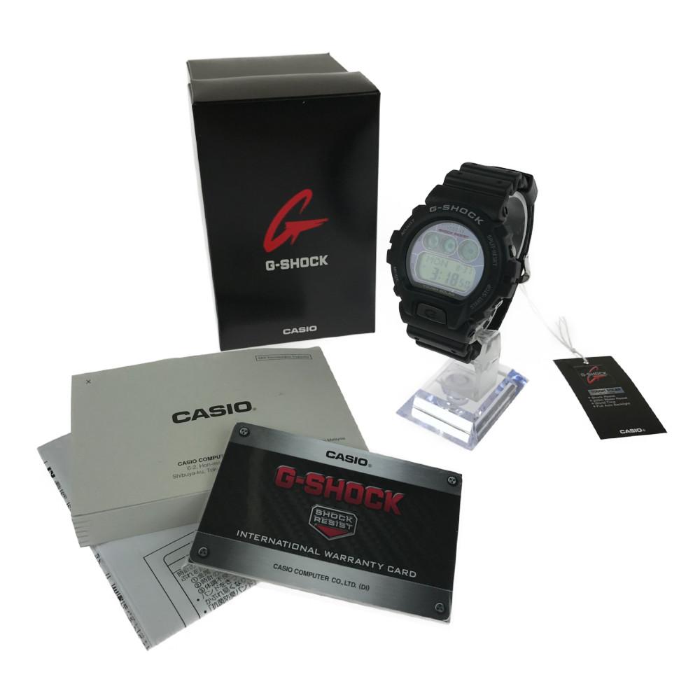 【中古】【未使用品】【メンズ】CASIO G-SHOCK G-6900-1DR TOUGHSOLAR カシオ ジーショック タフソーラー 腕時計 サイズ:ケース径 約53×50×19mm 腕回り 最大約21.5cm カラー:BLACK 万代Net店