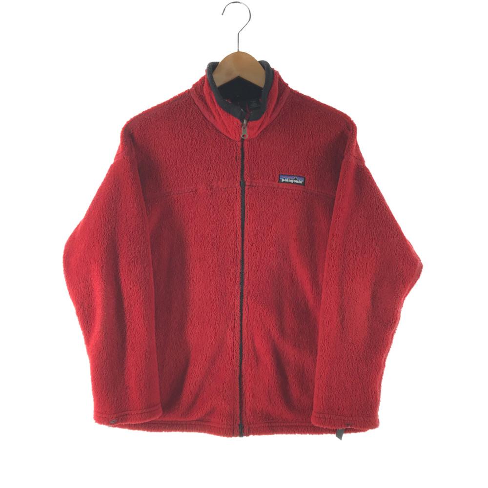 スーパーセール限定 20%OFF~ 中古 キッズ Patagonia KID'S FLEECE 毎日がバーゲンセール JACKET フリースジャケット 12 ライトアウター 高価値 万代Net店 サイズ:L パタゴニア カラー:RED