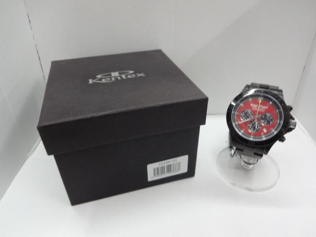 【中古】Angel Clover エンジェルクローバー 腕時計 ブラックマスターミリタリー レッド文字盤 送料無料