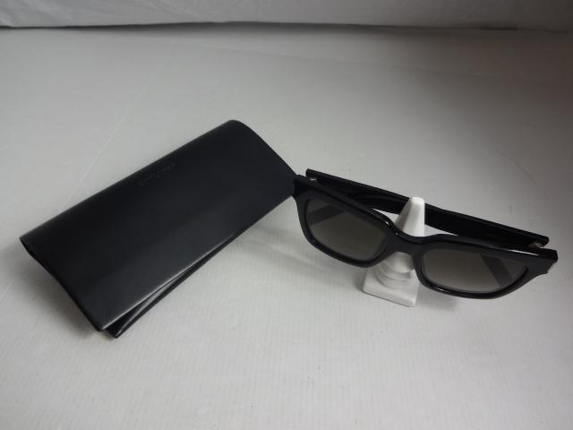 【中古】 SAINT LAURENT サンローラン BOLD 1 サングラス ブラック 送料無料