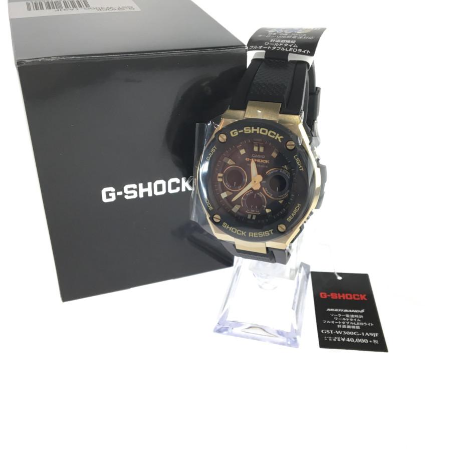 6 ジーショック 時計 MULTI G-STEEL 万代Net店 GST-W300G-1A9JF BAND 【美中古品】【メンズ】G-SHOCK