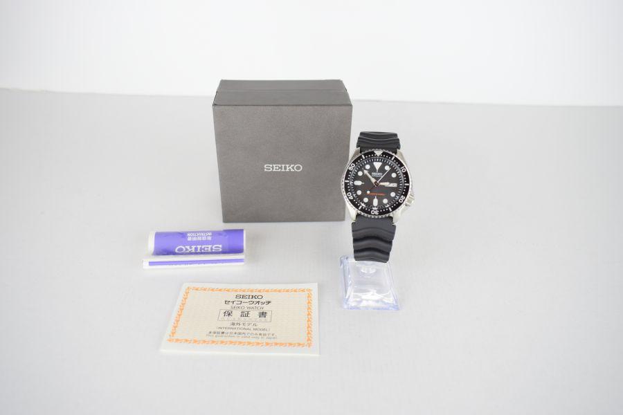 【スーパーセール限定!10%OFF~】【中古】【メンズ】SEIKO セイコー SKX007K 腕時計 カラー:SILVER 万代Net店