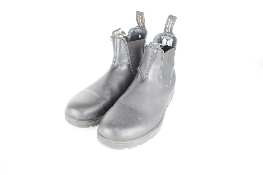 【スーパーセール限定!10%OFF~】【中古】【メンズ】Blund Stone ブランドストーン サイドゴアブーツ ブーツ サイズ:25cm カラー:BLACK 万代Net店